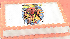 The Incredibles Edible Image